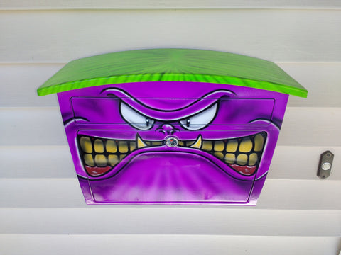 Airbrushed Mailbox MONSTER - Perfection Airbrushing