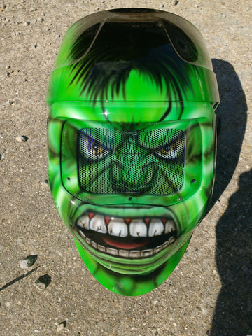 HULK WELDING Helmet - Perfection Airbrushing