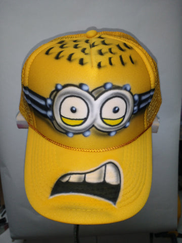 MINION JERRY Trucker Hat - Perfection Airbrushing