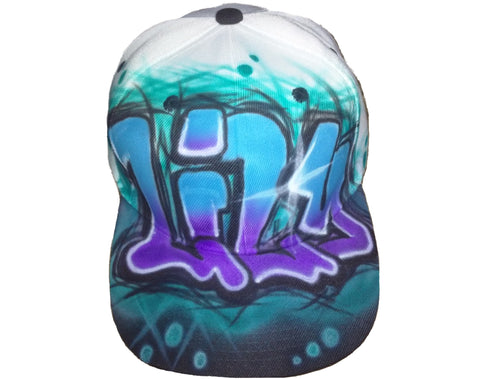 GRAFFITI, Hip Hop Dance hat - Perfection Airbrushing