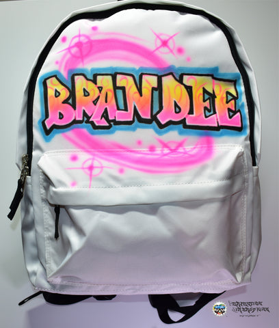 Graffiti Backpack - Perfection Airbrushing