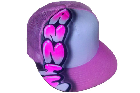 Hip Hop Name Design hat - Perfection Airbrushing