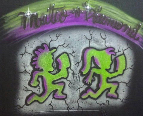 Hatchet Man and Hatchet Girl TShirt or Hoodie - Perfection Airbrushing