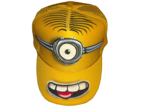 MINION Stuart Trucker Hat - Perfection Airbrushing