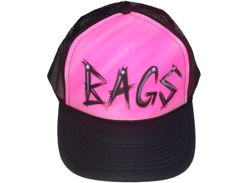 Name Design hat - Perfection Airbrushing