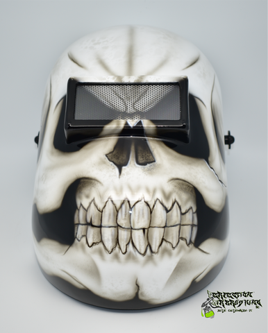 Skull Pipeliner Welding Helmet - Perfection Airbrushing