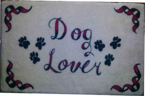Dog Lover Microfiber Memory Foam Mat - Perfection Airbrushing
