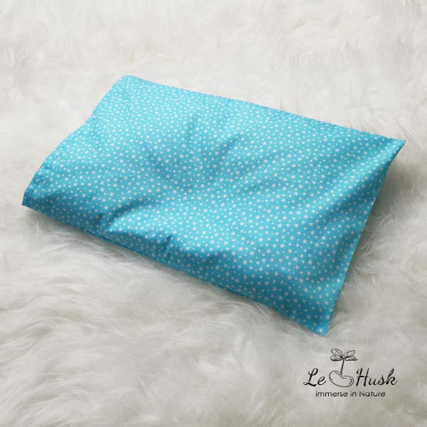 Twinkle Blue Anti Flat Head Pillow