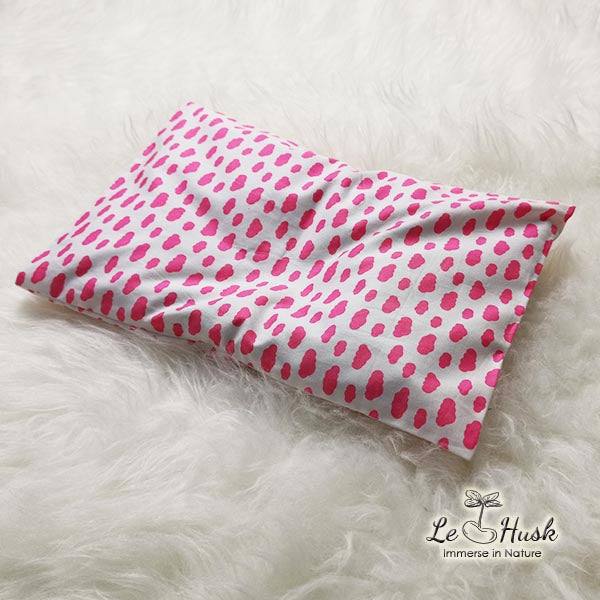 Le Husk Bean Sprout Husk Anti Flat Head Pillow - Pink Cloud Anti Flat Head Pillow,Pillow