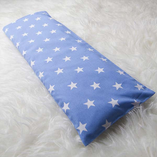 Le Husk Bean Sprout Husk Baby Pillow - Blue Star Baby Pillow,Pillow / Large