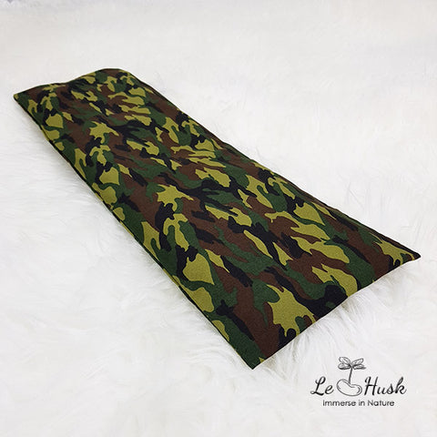Camo Green Baby Pillow