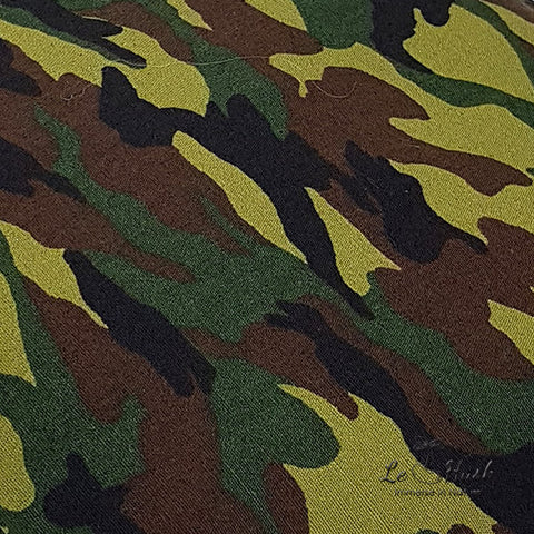 Camo Green Pillow