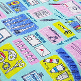 Colorful Stationery Pillow
