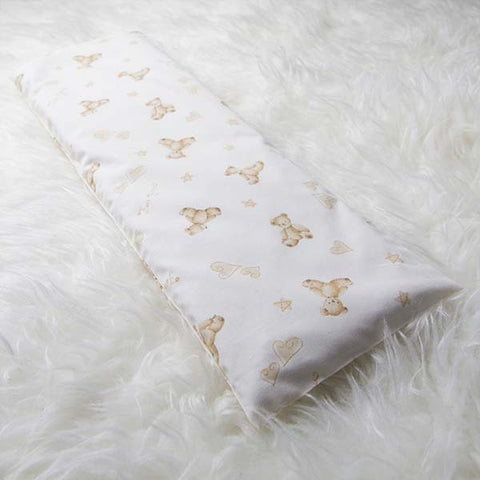 Cream Teddy Bear Baby Pillow