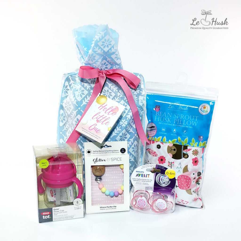 Essential Pacifier Gift Bag - Girl