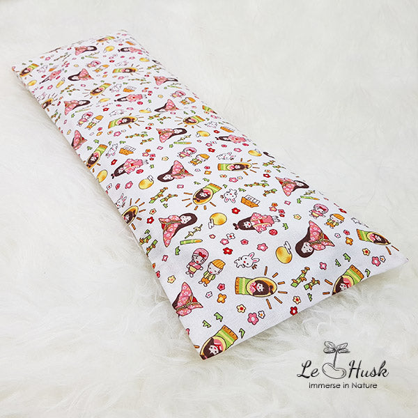 Japanese Dolls Baby Pillow