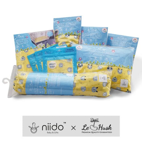 Nordic Animals Baby Bolster (cotton Sateen)