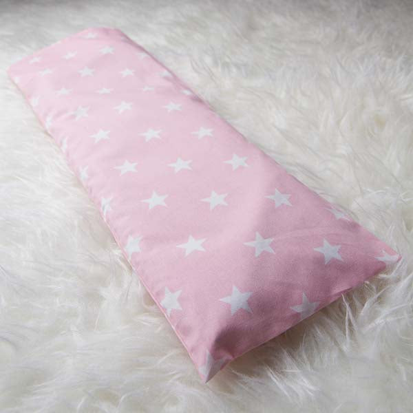 Le Husk Bean Sprout Husk Baby Pillow - Pink Star Baby Pillow,Pillow / Large
