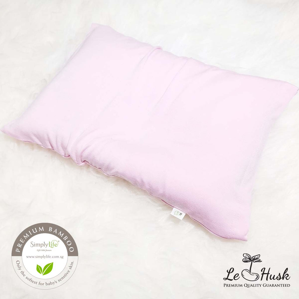 Simply Life X Le Husk Anti Flat Head Pillow - Pink