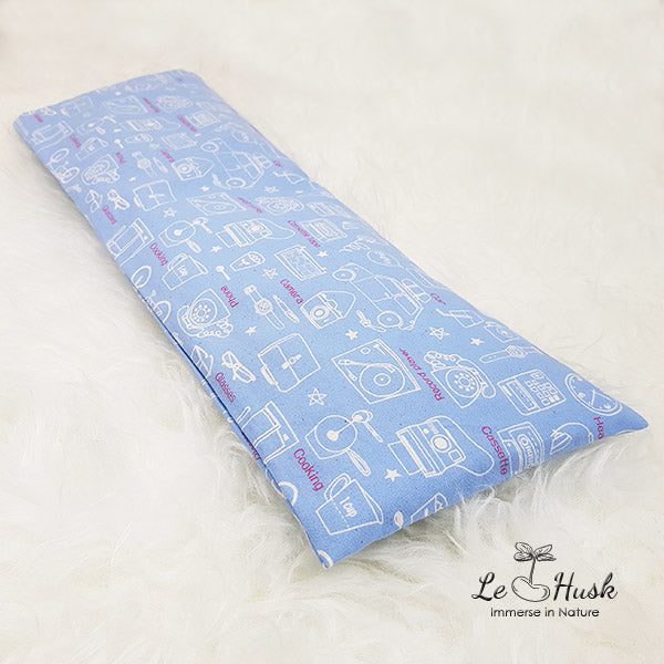 Nostalgic Blue Baby Pillow