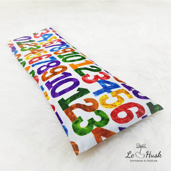 COLORFUL CRAYON NUMBER Pillow (IMPORTED)