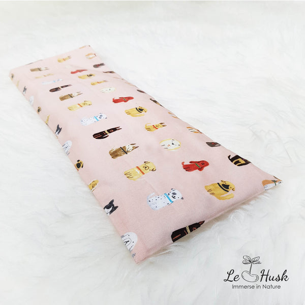 Puppy Pink Baby Pillow (Korea Import)