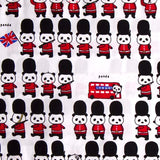 Panda London Soldier Baby Pillow
