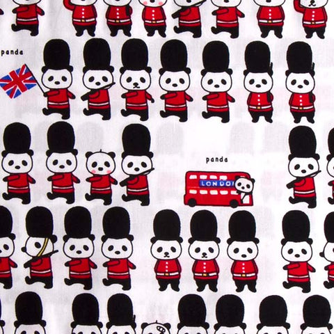 Panda London Soldier Baby Bolster