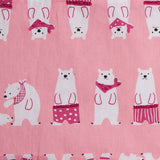 Le Husk Bean Sprout Husk Baby Pillow - Polar Bear (Pink) Baby Pillow,Pillow Case Only / Small