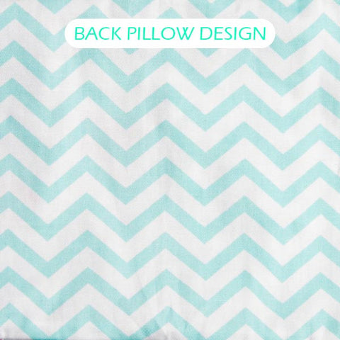 Polar Bear Pillow Bundle Set (Turquoise)