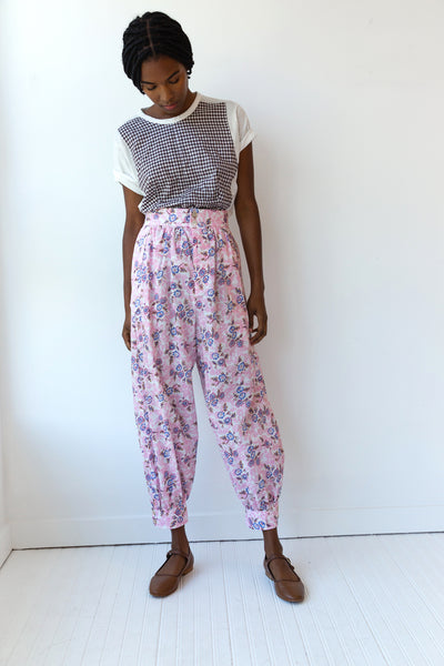 CAIRO PANT | PINK CORAL FLORAL