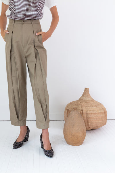 ELLIOT PANT | KHAKI CANVAS
