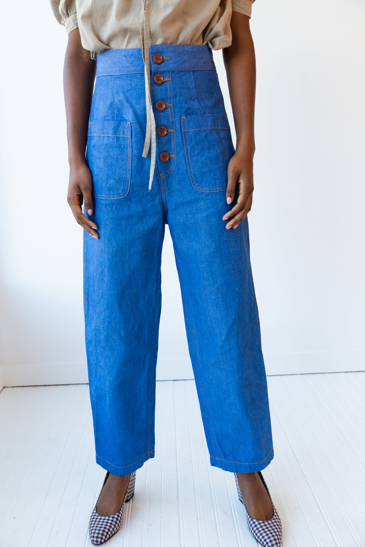 EMILY PANT | BLUE DENIM