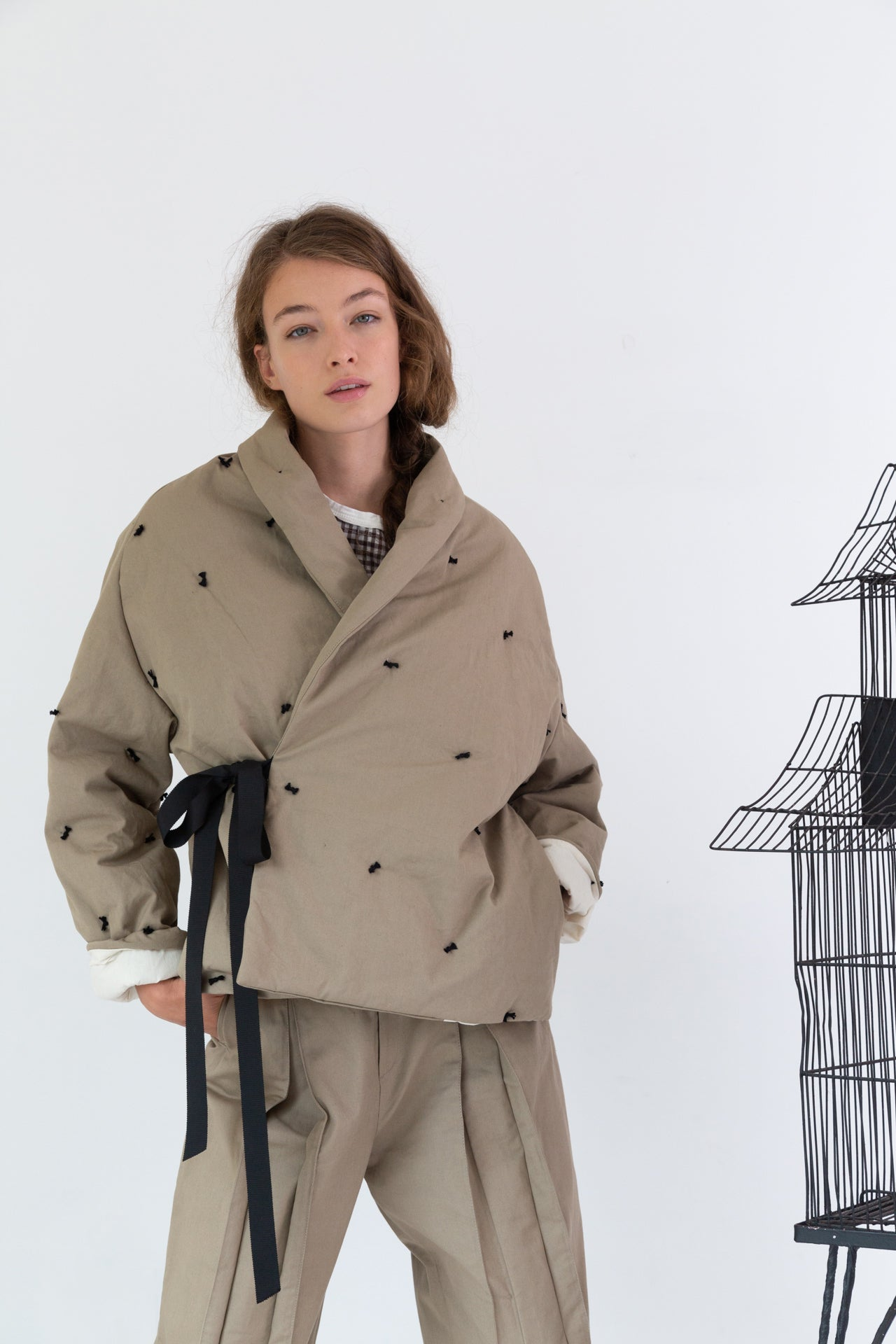 ESTELLA COAT | KHAKI CANVAS