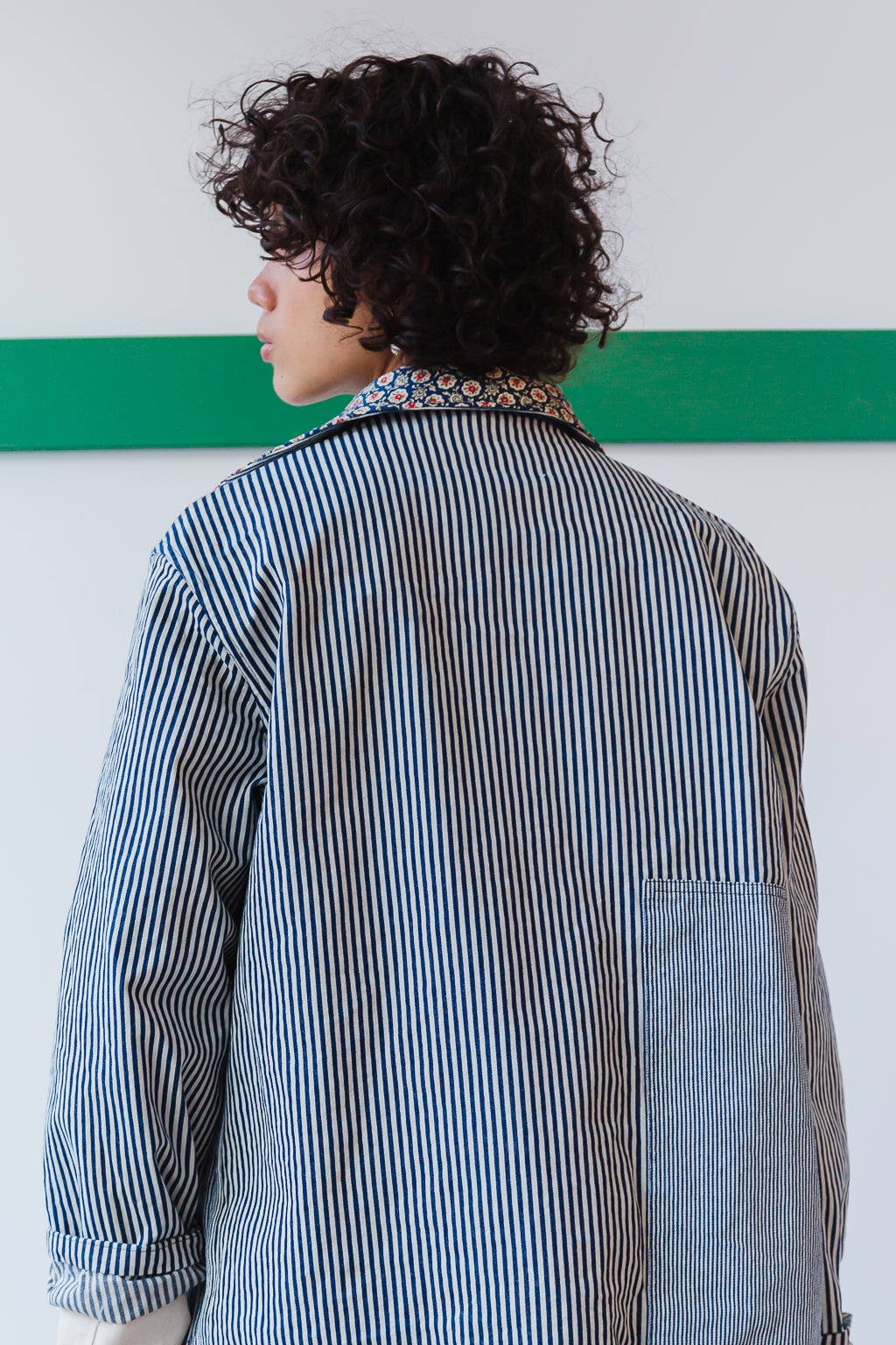 KRASNER JACKET | ENGINEER STRIPE