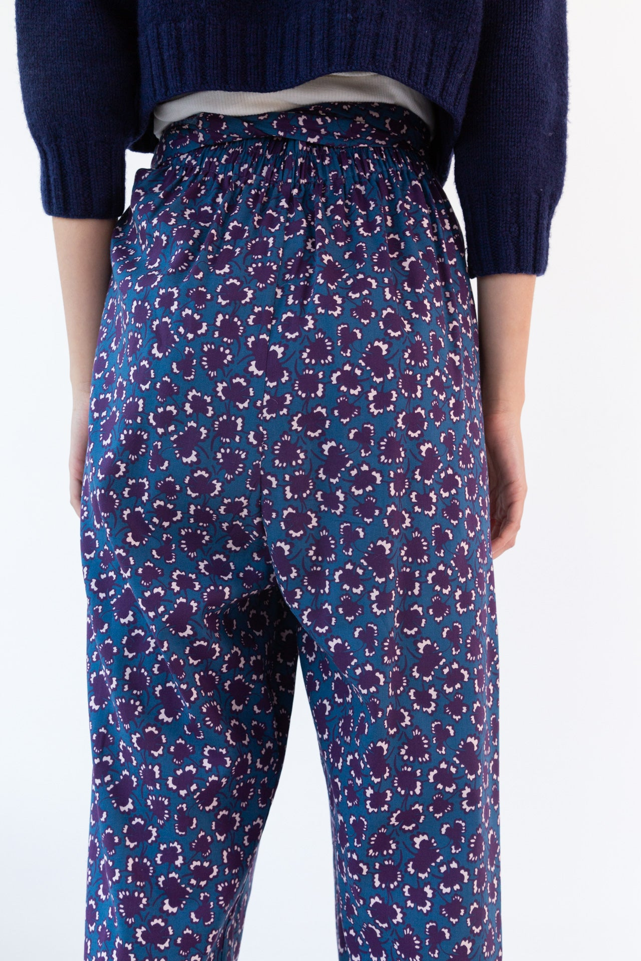 NICOLE PANT | MULBERRY POPPY FLORAL