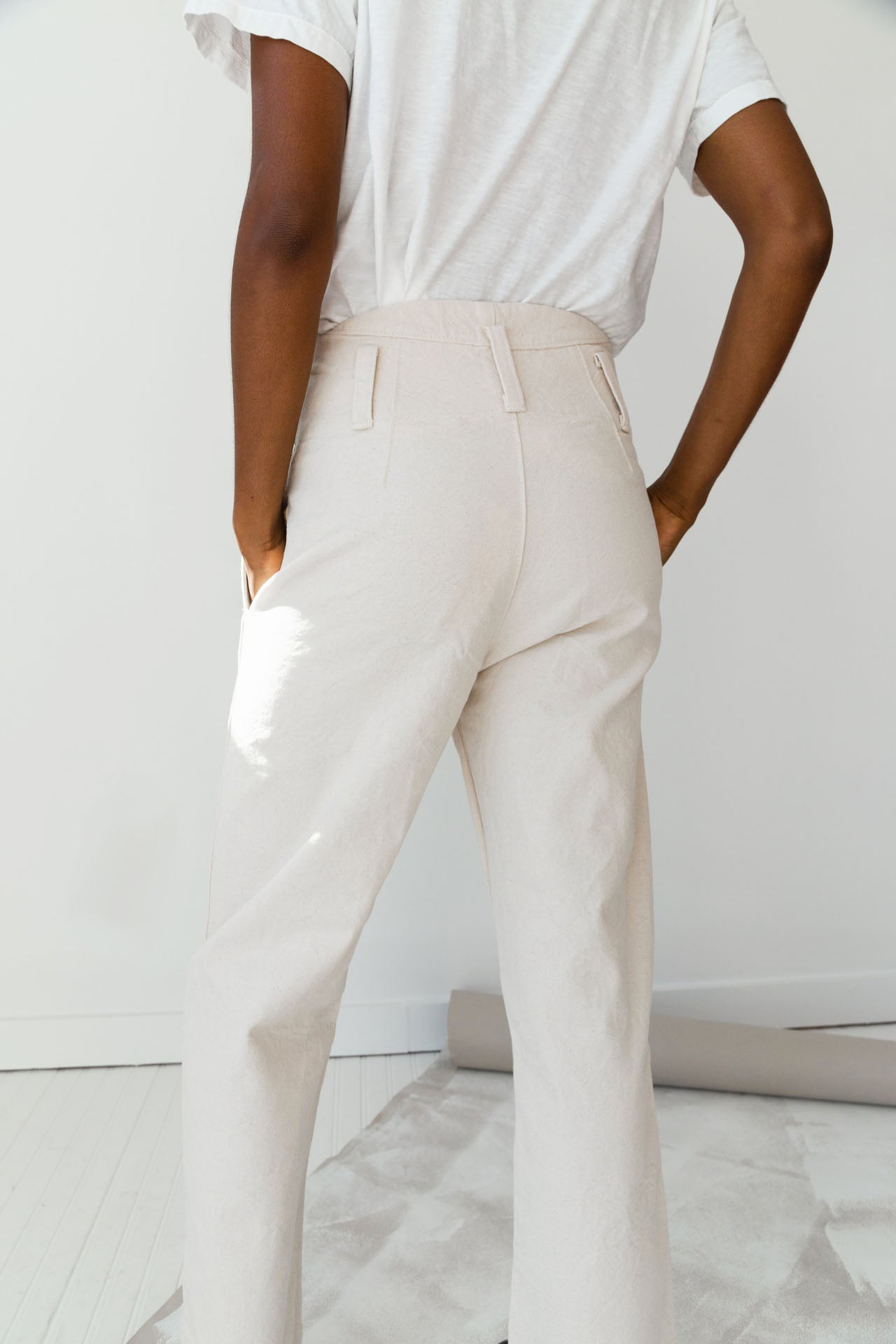 TIMOTHY PANT | CREAM CANVAS
