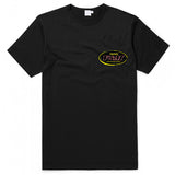 V&M Black T with Yellow Logo