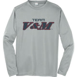 Team V&M Grey UV Longsleeve
