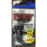 Owner Beast Hook 10/0 Weighted