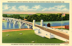 Indiana Vintage Postcards