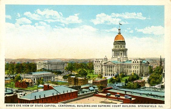 Illinois Vintage Postcards