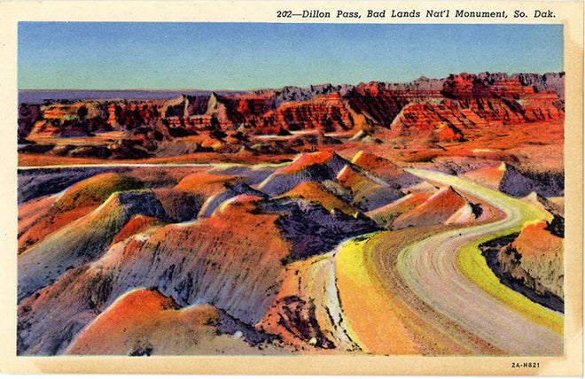 South Dakota Vintage Postcards