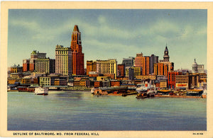 Maryland Vintage Postcards