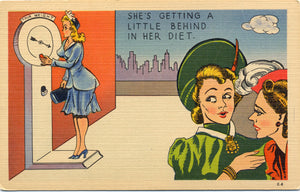Comic Collectible Vintage Postcards