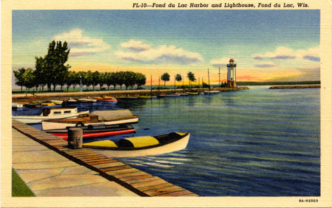Wisconsin Vintage Postcards