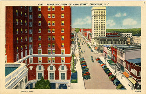 South Carolina Vintage Postcards