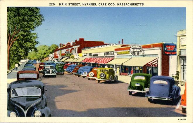 Massachusetts Vintage Postcards