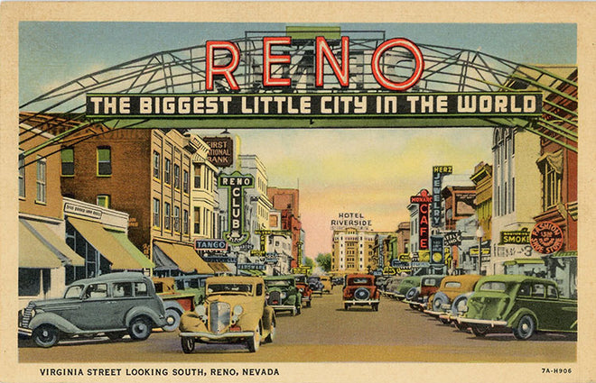 Nevada Vintage Postcards