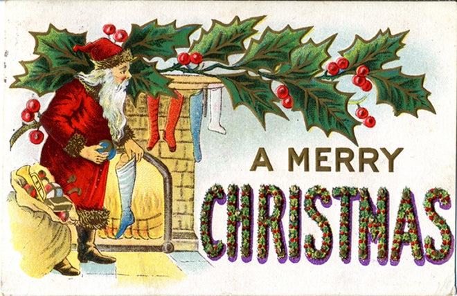 Holidays / Greetings Vintage Postcards